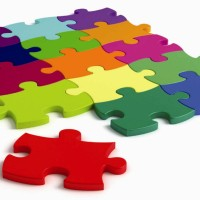 Verhaal in zes woorden met beeld: Puzzel