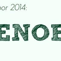 Woord voor 2014: Genoeg