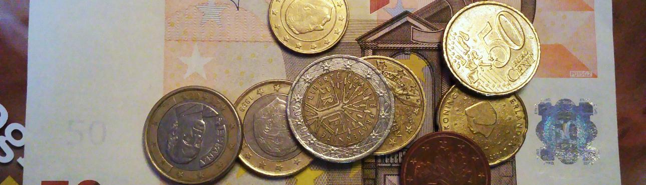 Verhaal in zes woorden met beeld: Geld