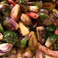 Recept: Spruitjes met spek en noten
