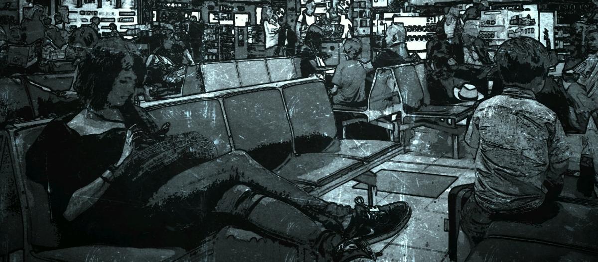 Zeswoordverhaal: Vliegveld