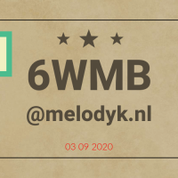 Zeswoordverhaal-uitdaging naar Melodyk